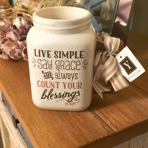 """""""Count your blessings"""" mug"""